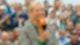 Andrea Kiewel im ZDF Fernsehgarten (vor Corona mit Publikum)