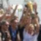 Helene Fischer am 15. Juli 2014 auf der Fanmeile in Berlin